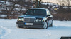 Mercedes 124 Snow edition (urospantelic_photography) Tags: car snow mercedes 124 dizel tuning