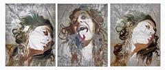 Zest for Life (Vanessa Vox) Tags: zestforlife selfie selfportrait collage emotion vanessavox triptychs