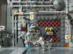 Walking the Dog (captain_joe) Tags: toy spielzeug 365toyproject lego minifigure minifig starship spaceship moc greeble