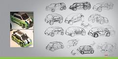Audi Qi - sketches (Veeborg) Tags: lego foitsop audi qi