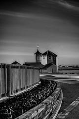 The Watch House (MMiPhoto) Tags: watchhouse pier southshields lifebrigade mono bw fuji xt1