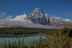 Mount Cephron (jim peterson2012) Tags: mountcephron canadianrockies banffnationalpark waterfowllake clearingstorm icefield parkway