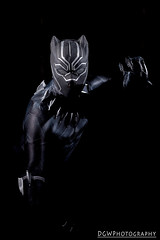 Black Panther (dgwphotography) Tags: cosplay nycc nycc2016 newyorkcomiccon 50mmf18g nikond600 nikoncls marvel marvelcomics blackpanther tchalla