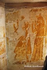 Tomb relief (konde) Tags: mayaandmerit tomb 18thdynasty mayaandmeryt newkingdom saqqara ancient art relief ancientegypt