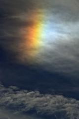 Sun Dog (Chrispics Photography) Tags: farnham sun dog parhelion weather