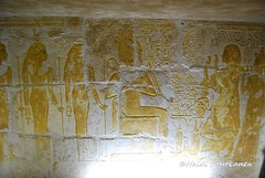 New Kingdom Tomb (konde) Tags: 18thdynasty newkingdom mayaandmeryt saqqara tomb mayaandmerit ancient art treasure goddess god osiris isis nut nepthys nephtys relief hieroglyphs offeringtable