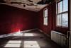 LansdowneTheatre_RedRoom (Lo8i) Tags: lansdownetheatre pn abandoned theatre urban urbex pa flickrlounge creativecomposition red room shadow window light