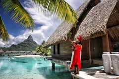 InterContinental Bora Bora Resort & Thalasso Spa (BoraBoraPhotosVideos) Tags: borabora island paradise southpacific sun beach sunrise amazing dream holydays beautiful bestvacations photooftheday picoftheday photodujour wedding tahiti polynesian