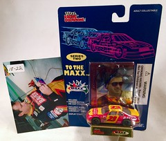#18-22, Chad Little, Signing, Racing Champions, To The Maxx, Series 2, 1995, Bayer, #23, Busch (Picture Proof Autographs) Tags: auto classic cars scale car sign real toy toys photo model automobile image display models picture images collection vehicles photographs photograph collections nascar displays 164 vehicle driver proof session autoracing autos collectible collectors signing automobiles collectibles authentic sessions collector drivers genuine diecast winstoncup carded buschseries inperson 164th photoproof authenticated blisterpacks pictureproof