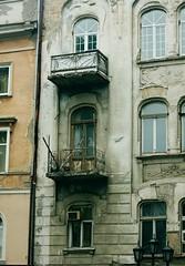 Patio (leonardmid) Tags: street city odessa ukraine balconies
