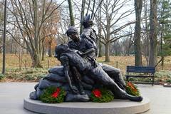 Vietnam Women's Memorial - Washington DC (Rayne37) Tags: winter dc memorial nurse