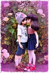 """Happy birthday!! Aoto❤️"" ;-) (cute-little-dolls) Tags: friends cute love toy kiss couple doll firstlove birthdayboy kawaii birthdaygift firstkiss aoto petworks azonedoll ruruko"