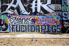 MONEY, ROGUE (STILSAYN) Tags: california money graffiti oakland bay east area rogue 2015 fuckdapigs