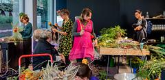 Vieno Motors (Poupetta) Tags: flowers candid ham artists mimosapale vienomotors