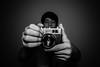Autoretrato ByN (shotem'fromthehip) Tags: camera old byn film blanco 35mm nikon retrato flash negro selfie werlisa d7100