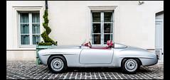 Mercedes Benz 190 SL (Racing) (1955) (Laurent DUCHENE) Tags: mercedes benz racing sl mercedesbenz 190 chantilly 2015 r121 artselégance