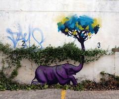 Undercover Elephant (Mr Baggins) Tags: streetart johannesburg falko jozi cityofgold2015