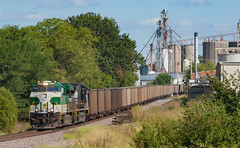 NS 8099 75W Huntingburg IN 13 Sept 2015 (Train Chaser) Tags: ns norfolksouthern ns8099 ns75w