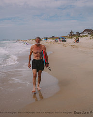 My father-in-law, the surfer (boogie boarder at this moment) (bdunn829) Tags: beach water sand northcarolina outerbanks frisco obx boogieboard frisconc