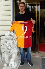 Johan Elmander (l3o_) Tags: galatasaray johan elmander sar krmz red yellow viking vikings goal football futbol footballer futbolcu sweden galasozlukorg