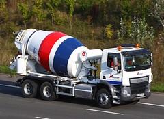 DAF CF RX65 OSU - Cemex (gylesnikki) Tags: truck cementmixer cemex rigid 6wheeler