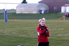 Cat at EV Football Game 10-9-15 04 (anothertom) Tags: people cat blurry iowa cheerleader friendlycat northenglish highschoolfootballgame englishvalleys sonyrx100ii hlvwarriors