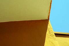 (jean.victorxxx) Tags: blue sky abstract texture yellow geometry line diagonal minimalism texturesforall