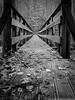 A Bridge Not Too Far (Explore 10.24.2015, #98) (Don Henderson) Tags: autumn fall leaves hiking pennsylvania peaceful photowalk apollo suspensionbridge meloncholy armstrongcounty xs1 myfujifilm nkcc roaringruncreek rockfurnacetrail myfujix newkensingtoncameraclubphotowalk