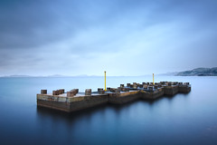 Lego (alex notag) Tags: longexposure blue sea seascape marseille filter nd 1000 filtre poselongue