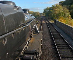 Great Central Railway Swithland Leicestershire 22nd October 2015 (loose_grip_99) Tags: uk railroad england train october leicestershire engine rail railway trains steam transportation locomotive railways preservation midlands lms 460 greatcentral eastmidlands 2015 gcr stanier black5 45305 uksteam gassteam