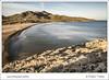 Calblanque III (P. Yáñez) Tags: travel blue sunset españa seascape beach atardecer spain sand europa europe playa arena murcia calblanque