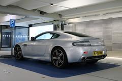 Aston Martin V8 Vantage N400 (R_Simmerman Photography) Tags: netherlands june grey airport martin united kingdom international national schiphol v8 aston vantage the 2015 n400 dutchcars hollandcars