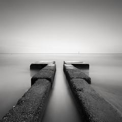 the Ariisoumi Sea (StephenCairns) Tags: blackandwhite japan concrete toyamaprefecture seadefense stephencairns takaokashi concreteseadefense ariisoumi