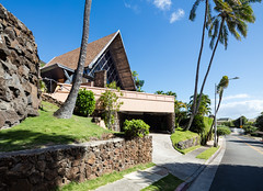 Kahala A-Frame (Chimay Bleue) Tags: house home modern design place cook modernist aframe wimberly midcentury kaikoo