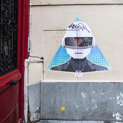 by ? (Ruepestre) Tags: street streetart paris france collage graffiti punk daft graffitis daftpunk
