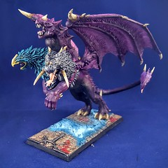 Chimera (Purple) (ScorpiusGLC's World of Wargaming) Tags: chaos warhammer ageofsigmar