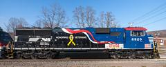 Honoring our Veterans (sullivan1985) Tags: ny newyork heritage train ns special amtrak veterans toysfortots unadilla norfolksouthern emd amtk honoringourveterans capitolregion sd60e ns027 ns6920 ns02705