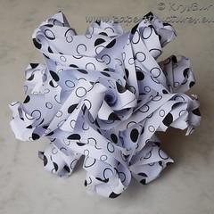 The Brashations (K16049) (Origami Spirals) Tags: curler paper fold twirl origami burczyk folding art krysbur