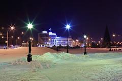 Palace of justice (Unicorn.mod) Tags: 2016 landsape cityscape city lipetsk night light snow winter manual manuallens canoneos6d samyang35mmf14asumc samyangmf35mmf14edasumcae