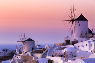 The Windmills of Oia