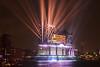 Eröffnungsfeier der Elbphilharmonie (Lilongwe2007) Tags: hamburg elbphilharmonie eröffnung wasser lichtshow elbe lasershow illumination spiegelung hafen landungsbrücken hafencity