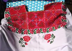 Maya Huipil Chiapas Mexico (Teyacapan) Tags: huipils chiapas maya mexican textiles ropa clothing embroidered elbosque flores flowers tzotzil