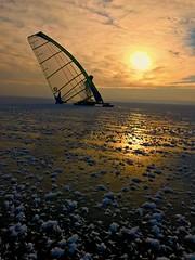 Ice Sun Sailor (dougslasscott3) Tags: e xploreinterestingness group sail people sport sun ice winter outside fun