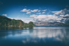 Derwent Water (Future-Echoes) Tags: 4star 2015 autumn cloud cumbria derwentwater lake longexposure reflections thelakedistrict water