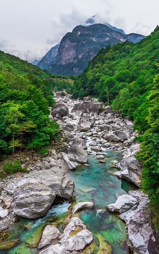 Údolí Verzasca, řeka Verzasca