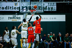 USF Basketball vs Pepperdine 127 (donsathletics) Tags: jordan ratinho university san francisco usf basketball vs pepperdine dons