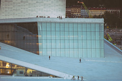 Oslo Opera House - Operahuset (Mashhour Halawani) Tags: oslo norway no operahuset opera house travel ventage mashhour halawani honeybadger