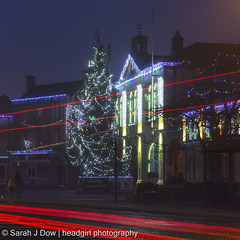 Melksham Town Hall-5687 (he4dgirl) Tags: christmas melksham sarahjdow wiltshire christmastree creativeportraitphotography dawn earlymorning headgirlphotographycom mistymorning night