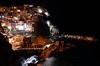 Sera sulla Scogliera (encantadissima) Tags: manarola liguria cinqueterre sera scogliera notturno luci mare