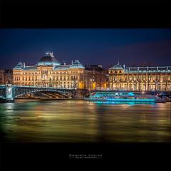 L'Hermès | Lyon (dominikfoto) Tags: rhone lyon boat bateua lyoncityboat fusina fusinadominik nuit night université